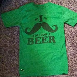 BOGO🖤Spencers beer shirt